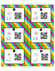 Two-Digit by One-Digit Multiplication QR Task Codes