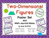 Two-Dimensional Shapes Poster Set and Notes