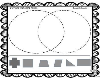 Two Dimensional Shapes Venn Diagram