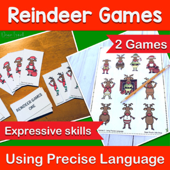 Expressive Language Reindeer Games-Two for One