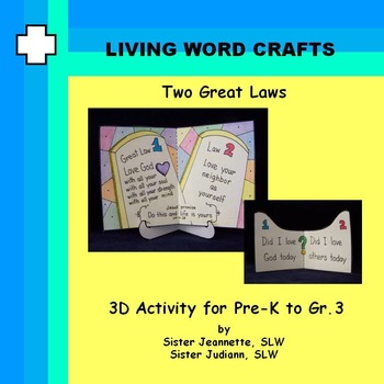 Two Great Laws 3D for Pre-K to Gr.3