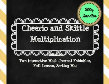 Two Interactive Foldables for Multiplication with Lessons