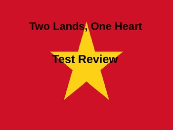 Two Lands, One Heart Test Review Powerpoint