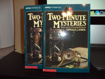 Two-Minute Mysteries ISBN 0-590-44787-4 (Set of 2)