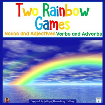 Parts of Speech: Two Rainbow Games