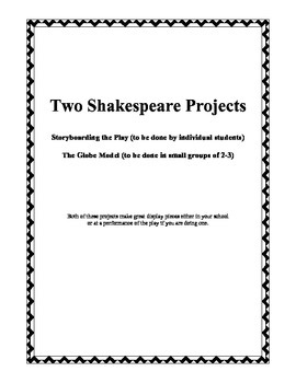 Two Shakespeare Projects