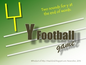 Two Sounds for y - Football Game