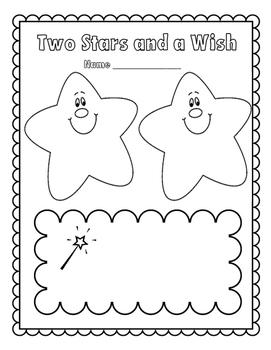 Two Stars and a Wish - Student Feedback FREEBIE!