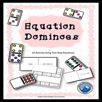 Two Step Equation Domino Set