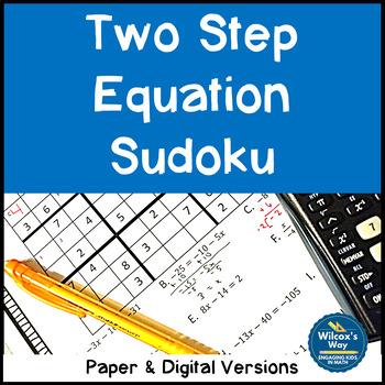 Two Step Equation Sodoku Game