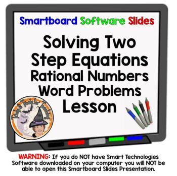Two-Step Equations 2 Two Step Equations Rational Numbers S