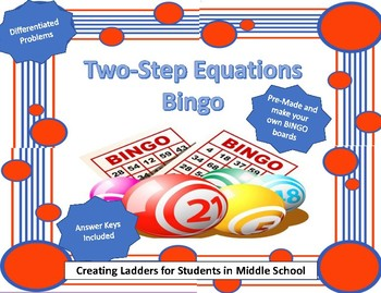 Two Step Equations BINGO