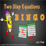 Two-Step Equations BINGO