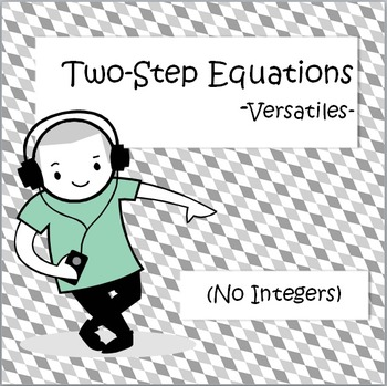 Two Step Equations - Versatiles