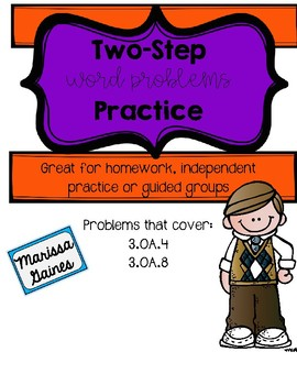 Two-Step Word Problem Practice