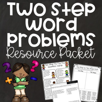 Two Step Word Problems {Games, Activities, Assessments, An