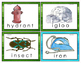 Two Syllable Word Puzzles for Word Wall Cards and Flash Ca