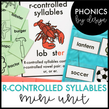 Two Syllable Words with R-Controlled Vowels Word Work Printables