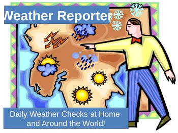 Two Weekly Weather Recording Charts!