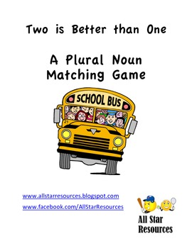 Two are Better than One--Plural Noun Matching