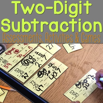 Subtraction Assessments, Activities, & Games