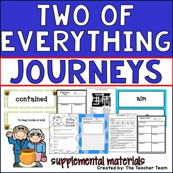 Two of Everything Journeys Second Grade Supplemental Materials