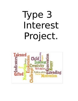 Type 3 Projects