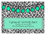 Type of Writing Sort Informational, Opinion, & Narrative P