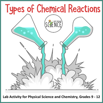 types of chemical reactions by amy brown science teachers pay teachers. Black Bedroom Furniture Sets. Home Design Ideas