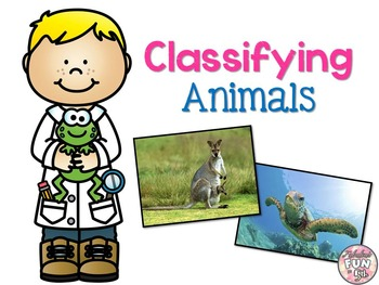 Types of Animals: Classifying Animals: PowerPoint and Notes