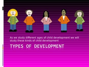 Types of Child Development