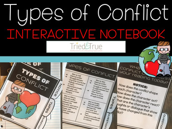 Types of Conflict Interactive Notebook