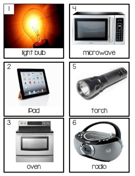 Energy and Electricity Scavenger Hunt: Types of Energy