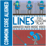TYPES OF LINES Worksheets | Lesson Plan | Video | Activiti
