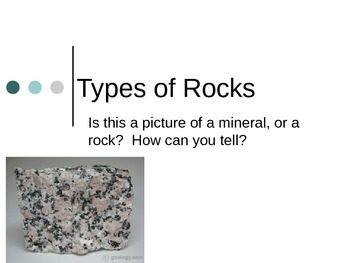 Types of Rocks Lesson 12