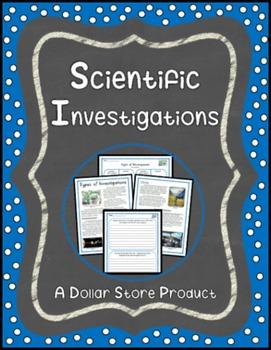 Types of Scientific Investigations Close Read Grades 6-8