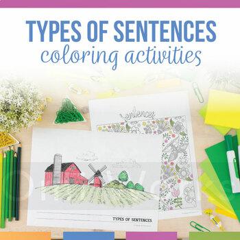 Types of Sentences Coloring Sheet