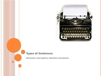 Types of Sentences: Declarative, Interrogative, Imperative