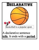 Types of Sentences Grammar Mini-Posters