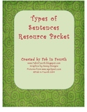 Types of Sentences Packet