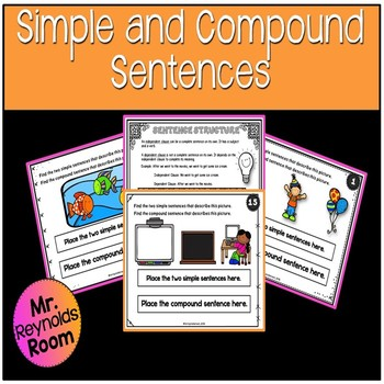 Simple and Compound Sentences Activity Center