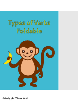 Types of Verbs Foldable