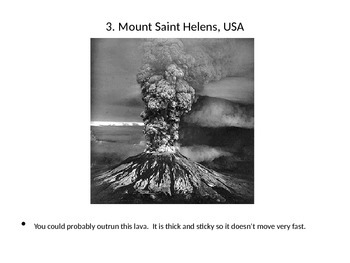 Types of Volcanoes- Gallery Walk