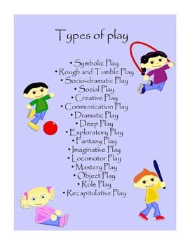 Types of play posters