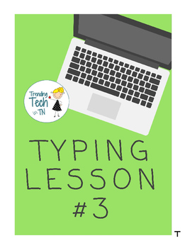 Typing Lessons - Mini Lesson 3 - Timed Test