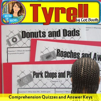 Tyrell--Quizzes and Answer Keys