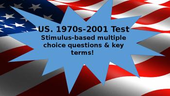 U.S. 1970s-2001 Unit Test