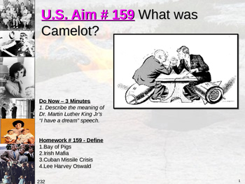 U.S. Aim # 159 What was Camelot?