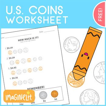 U.S. Coins Worksheet