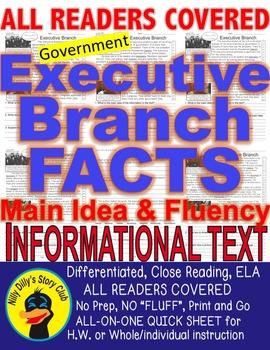 U.S. Executive Branch FACTS Close Read 5 Level Passages AL